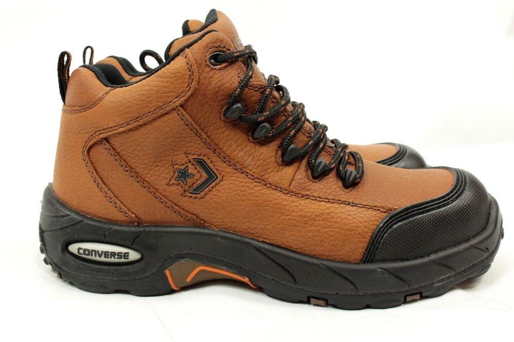 4371161839dd Converse Composite Toe Waterproof Hiking Boots Womens 9.5W Mens 7.5W Brown  C4444  Converse  HikingTrail