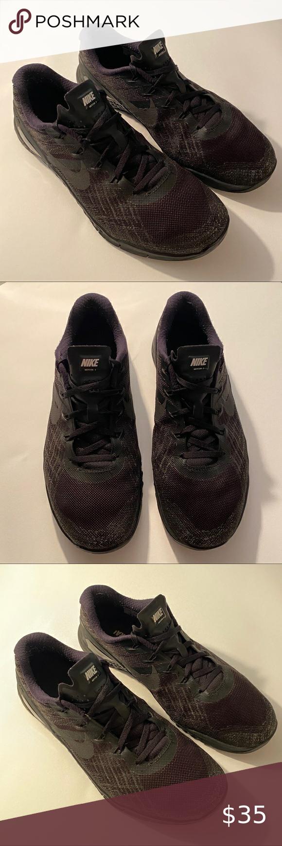Nike Metcon 3 Men's Black Cross