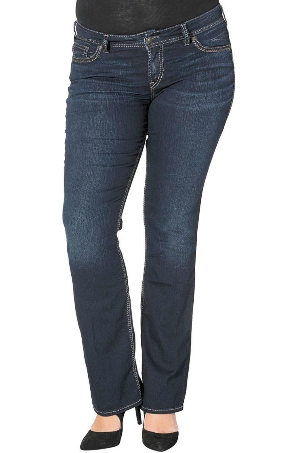 Suki MID/ slim BOOT.  Mid Rise  Relaxed Hip & Thigh  Slim Bootcut Leg Suki Slim Boot by Silver Jeans Co.. Clothing - Bottoms - Jeans & Denim - Slim Alabama