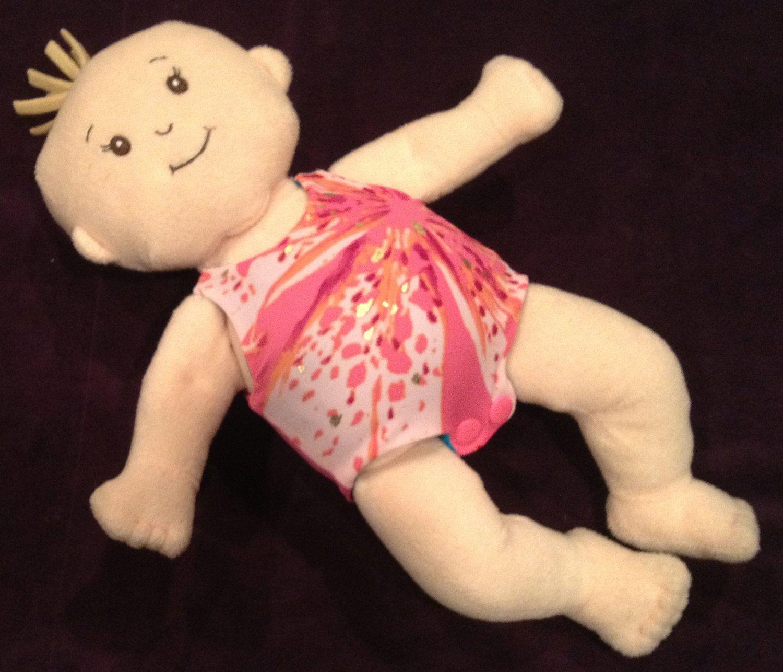 Reversible Doll Swimsuit Leotard in Pink Splash and Bright Metallic ...