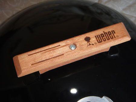 Weber Kettle Replacement Handles Made Of Oak Weber Smokey