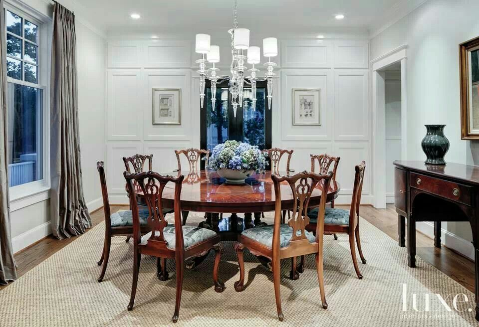 Chippendale Dining Room Prepossessing Chippendale Dining  Home  Pinterest  Room Review