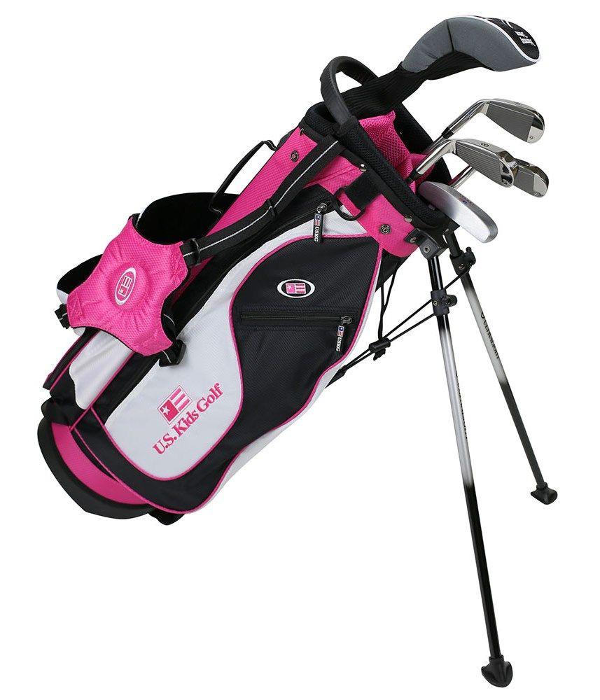 The Ultralight Set Is Designed For The Beginner To Intermediate Player Uskidsgolf Juniorgolf Golfshop Golfindu Kids Golf Kids Golf Clubs Black White Pink