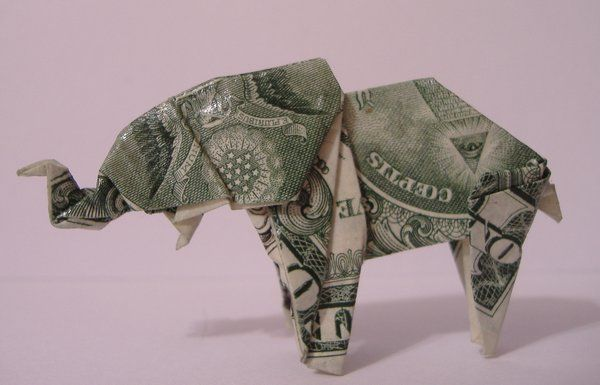 Origami Elephant Origami Elephant By Cissell Origami Pinterest