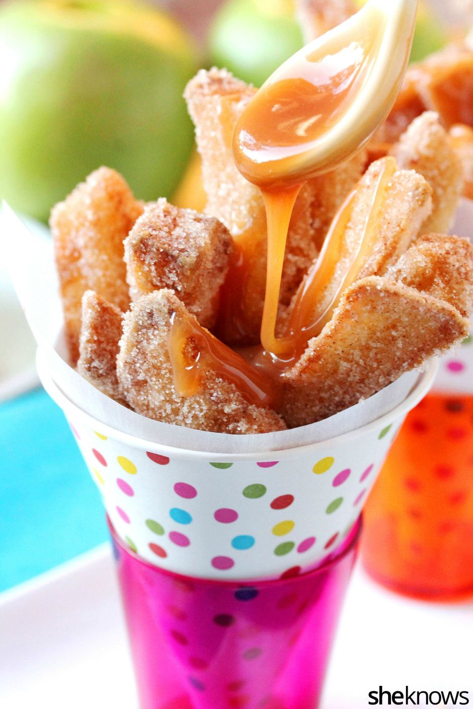 Crispy, crunchy apple fries are the tastiest way to eat your daily serving of fruit