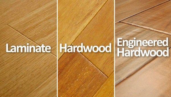 Hardwood Vs Laminate Vs Engineered Hardwood Floors What S The Difference Engineered Wood Floors Flooring Hardwood