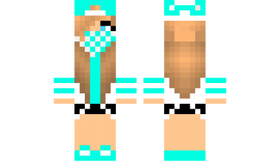Minecraft Skin Swaggirl Check Out Our YouTube Httpswwwyoutube - Skins para minecraft pe swag