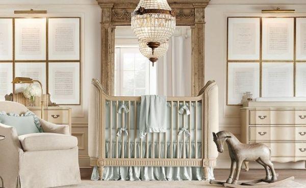 Cuarto de lujo para bebé Baby Nursery Pinterest
