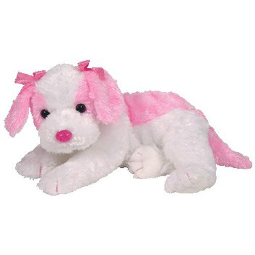 TY Pinkys PARADISE the Pink Dog [Saint?] (12 inch