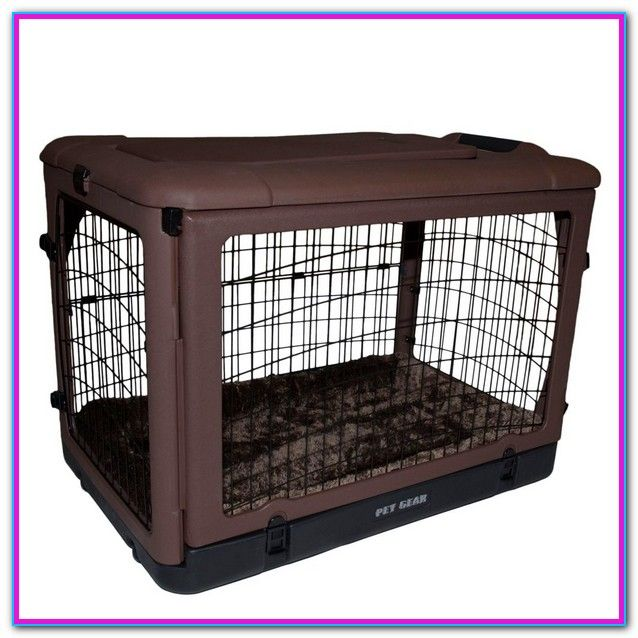 Dog Cages For Sale At Petsmart From Large Crates To Small Carriers Suitable For Puppies And Toy Breeds We Make It Easy Pet Gear Dog Cages For Sale Dog Cages