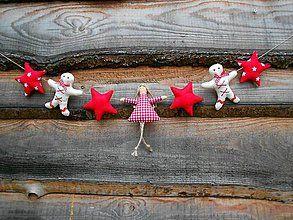 Tabuľky - Girlanda, výsostne vianočná:-) - 5920921_