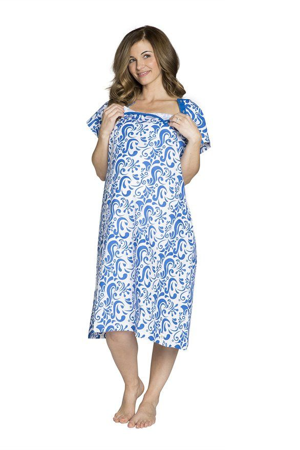 Amazon.com: Gownies - Labor & Delivery Maternity Hospital Gown ...