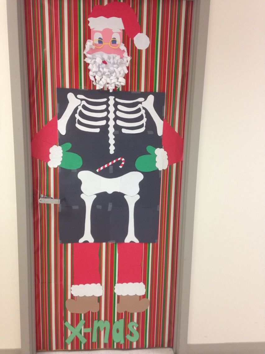 Radiology Holiday Door Decorating Office Christmas