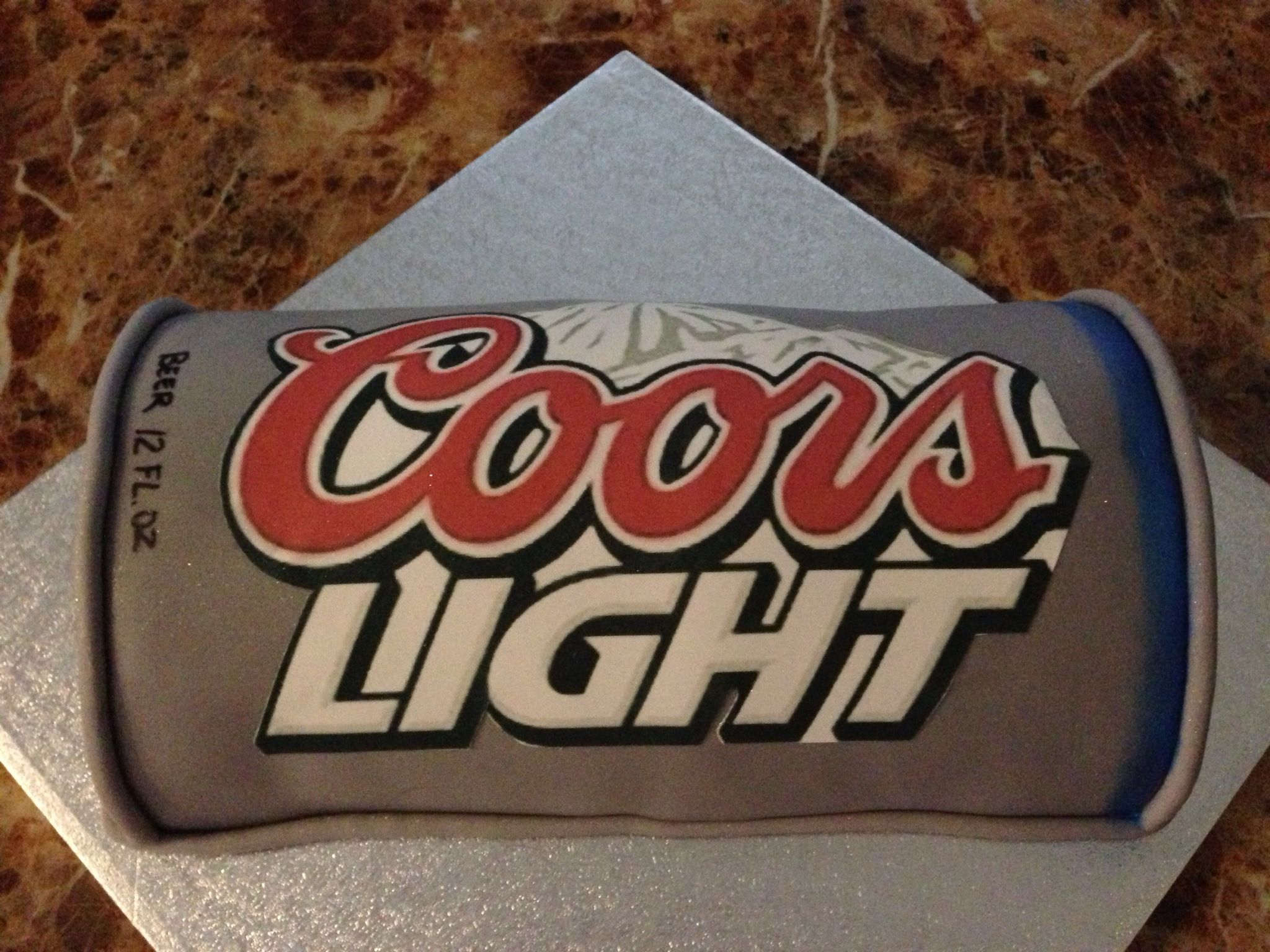 coors light cake lighttortas de cerveza