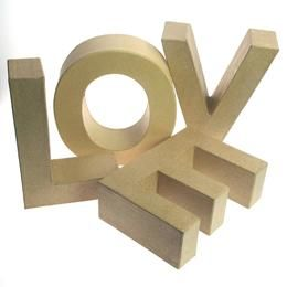 large cardboard letters ` - Google Search