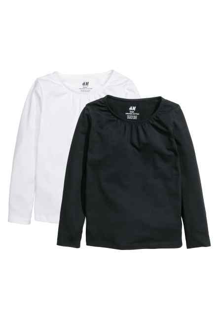 883dd0d8d0 2-pack long-sleeved tops   My Style   Tops, Black tops, Long sleeve tops