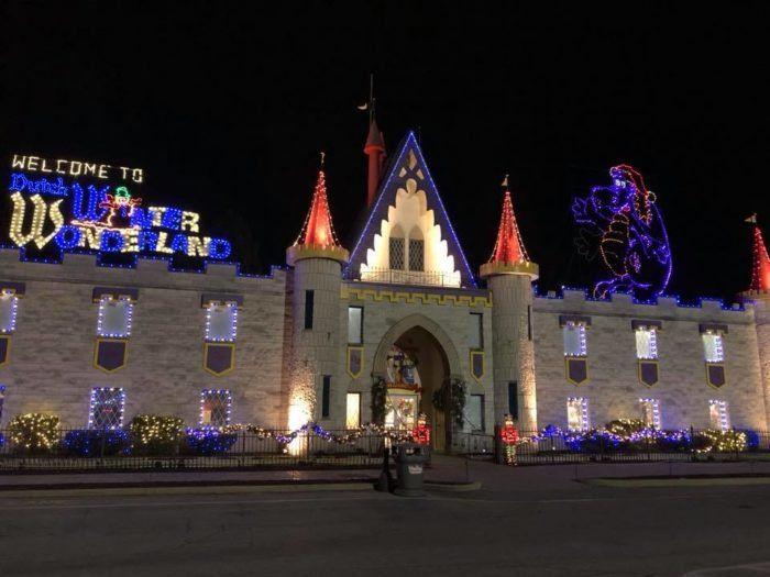 discover the magic of the season at dutch wonderlands annual winter wonderland celebration this december