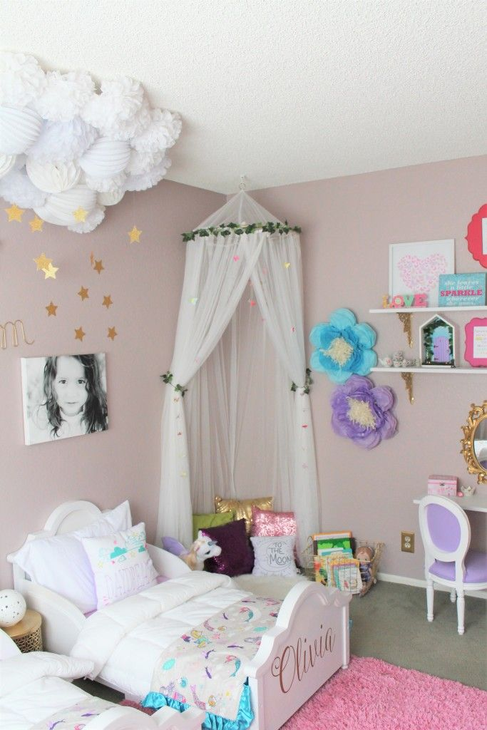 The Land Of Make Believe Girls Room Paint Shared Girls Room