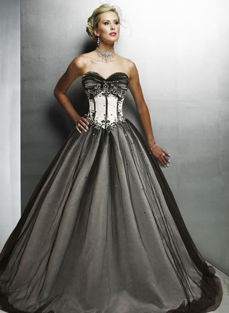 Gothic victorian wedding dresses images