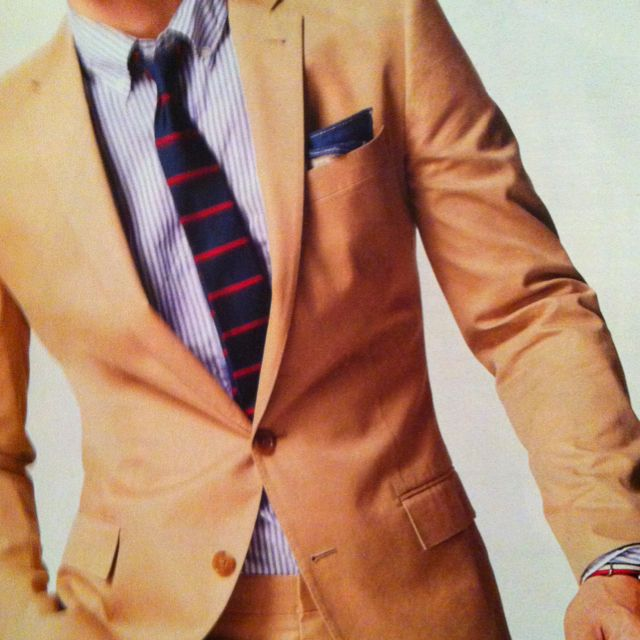 The Italian Chino Ludlow Suit / J. Crew