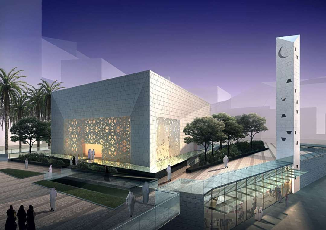 8 modern mosques that blend an ancient religion with for Contemporary architecture design concept