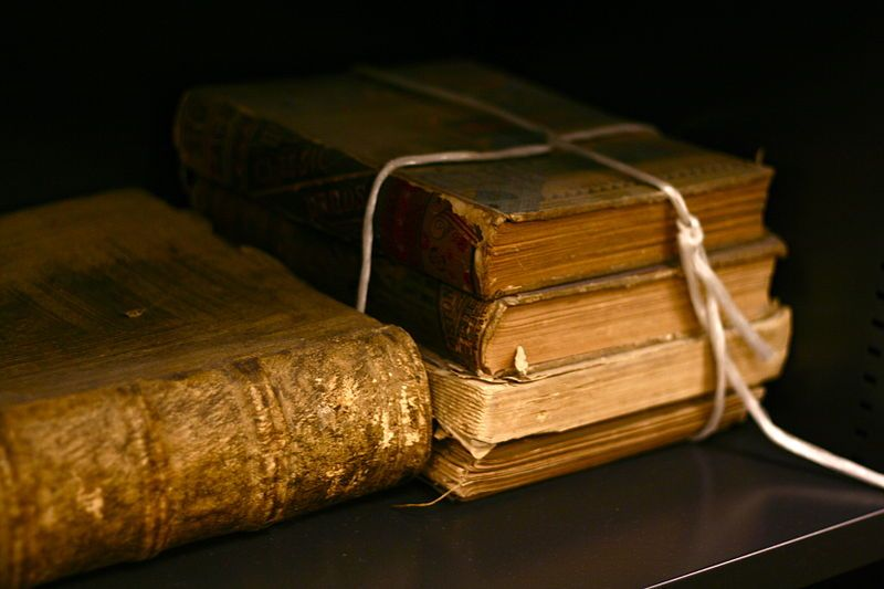 File:Old books by bionicteaching.jpg