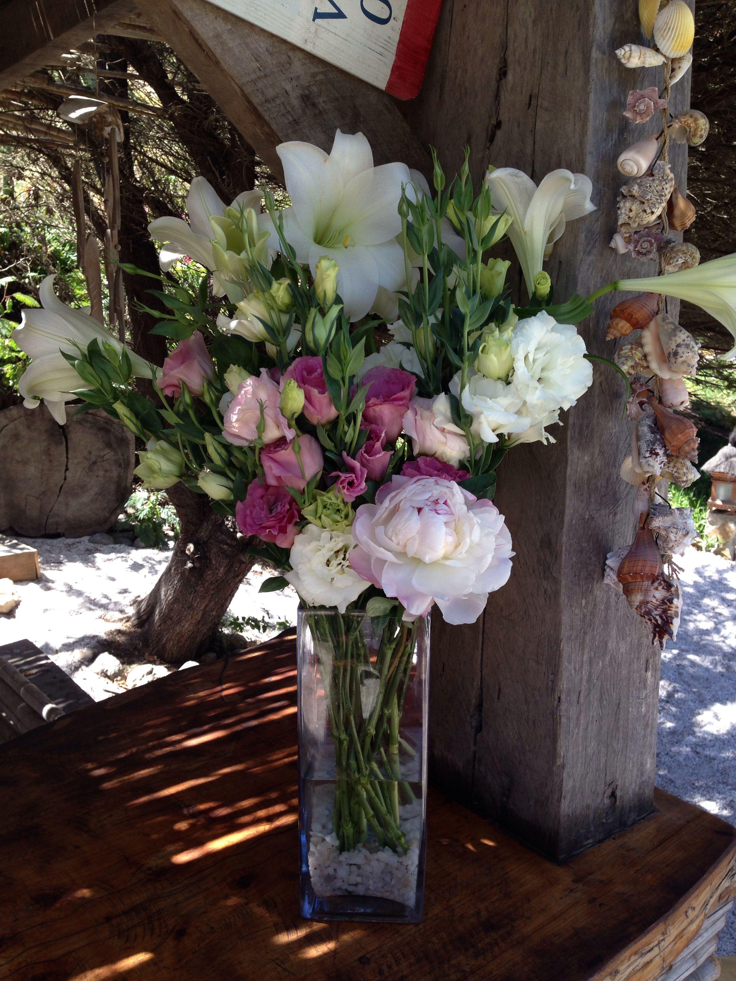 Arreflo flores Club el Tebo