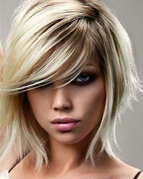 Frisuren Mittellang Stufig Bilder Einfache Frisuren