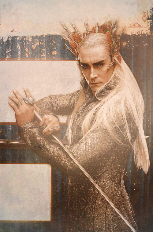 lee pace as thranduil in the hobbit he doesn t even utter a single