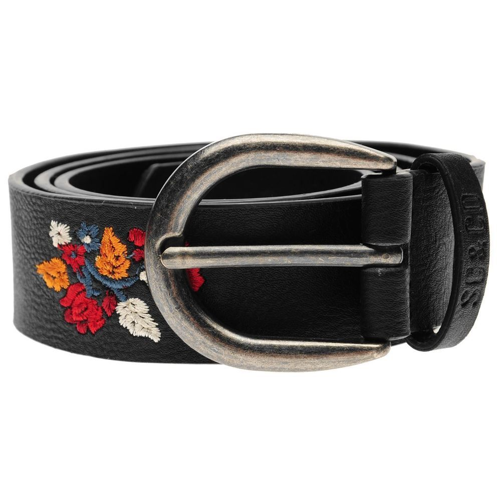 b13d316b SoulCal Womens Floral Stitch Belt Buckle Fastening #fashion ...