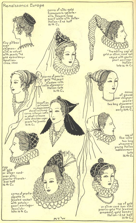 coiffure femme renaissance  bf5bdc8a2a2