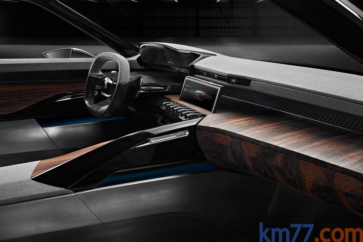 Peugeot Exalt Prototipo Turismo Interior Salpicadero 5 Puertas