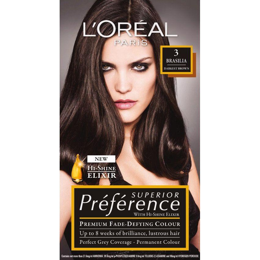L'Oreal Paris Superior Preference Fade-Defying Color + Shine ...
