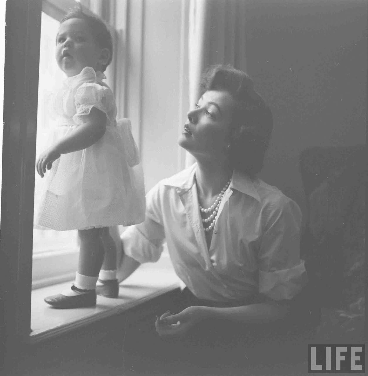 Man Tailored Shirts . November 11, 1949 . Photo by Gordon Parks