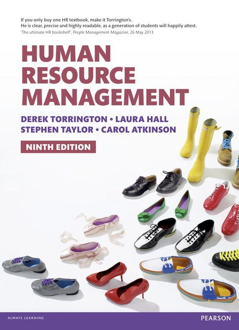 Human Resource Management Th Edn  Dawsonera Ebooks