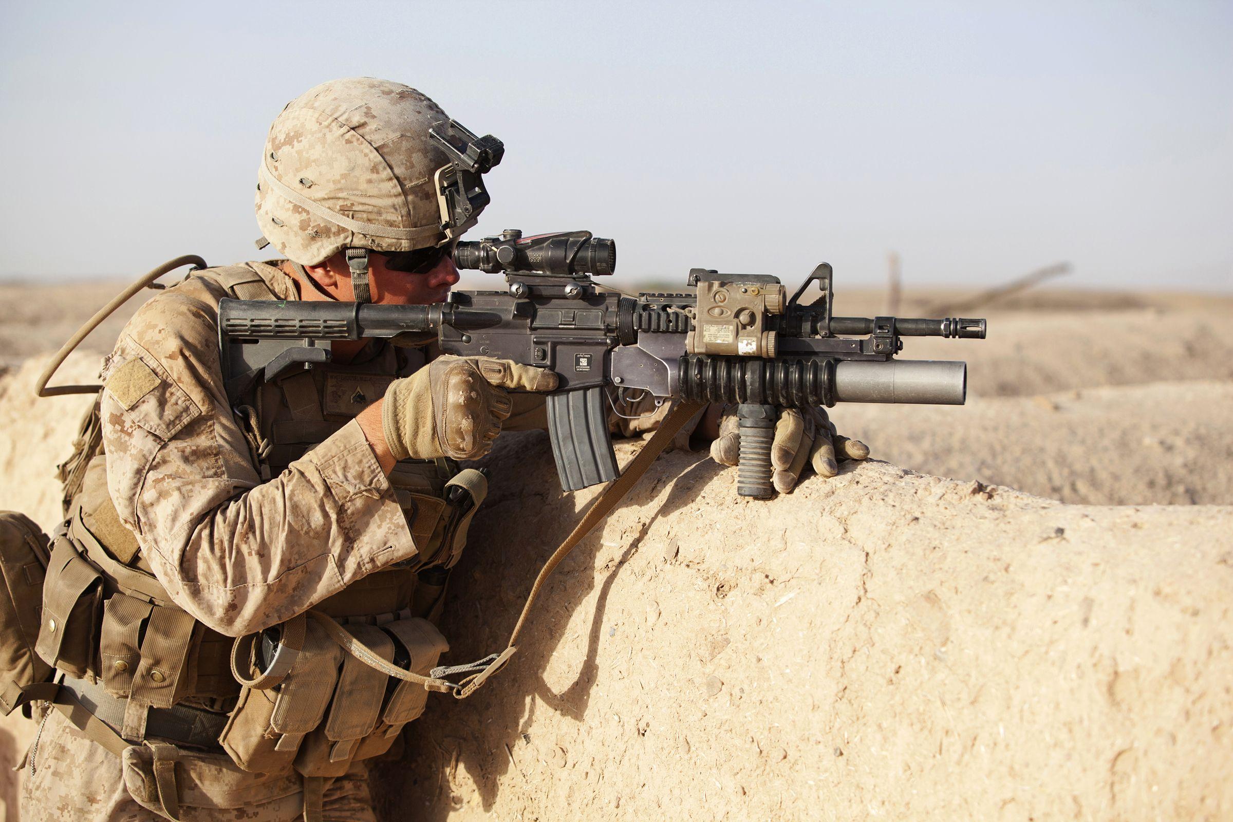 Warrior Wednesday: U.S. Marine Cpl. Michael Whitehouse, a rifleman ...