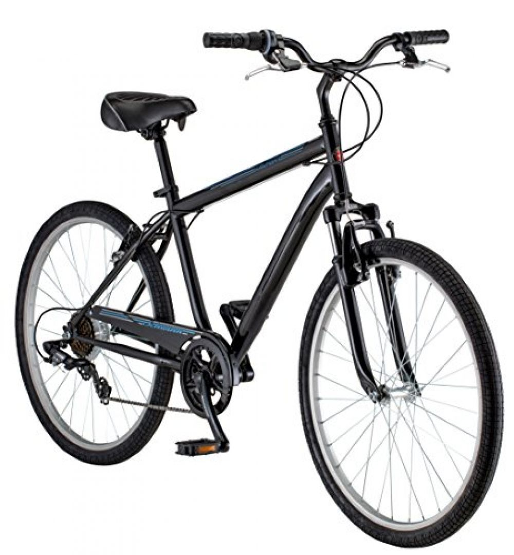 Schwinn Men's Suburban Bike, 26Inch, Black in 2020