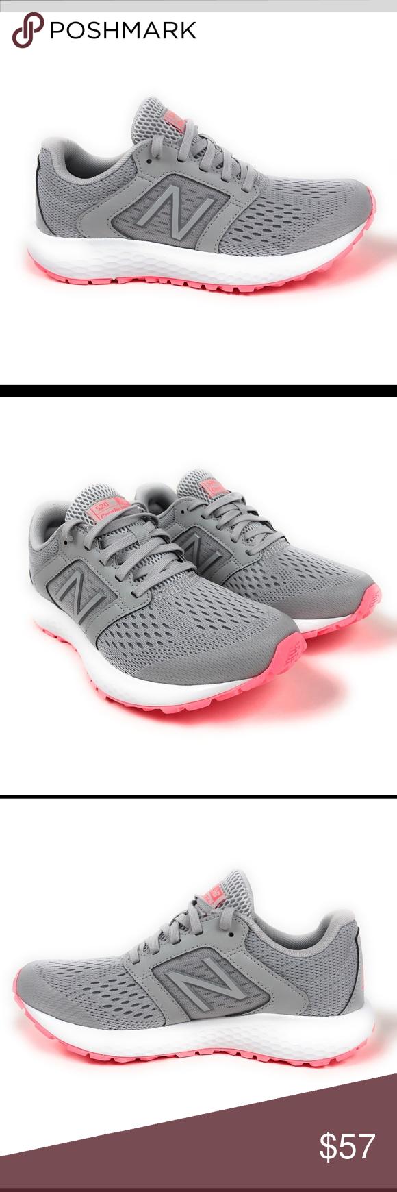 New Balance 520V5 Grey Running Shoes B