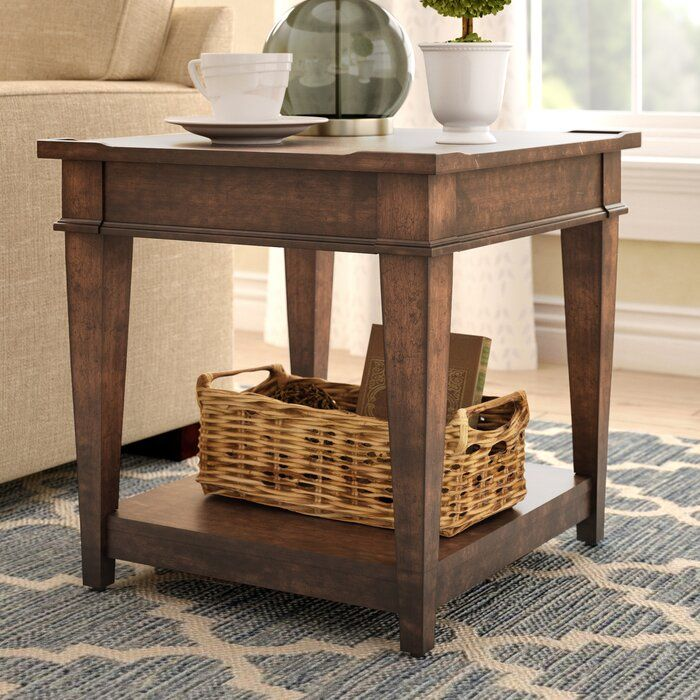 Rosalyn End Table With Storage End Tables Living Room Side Table Side Table