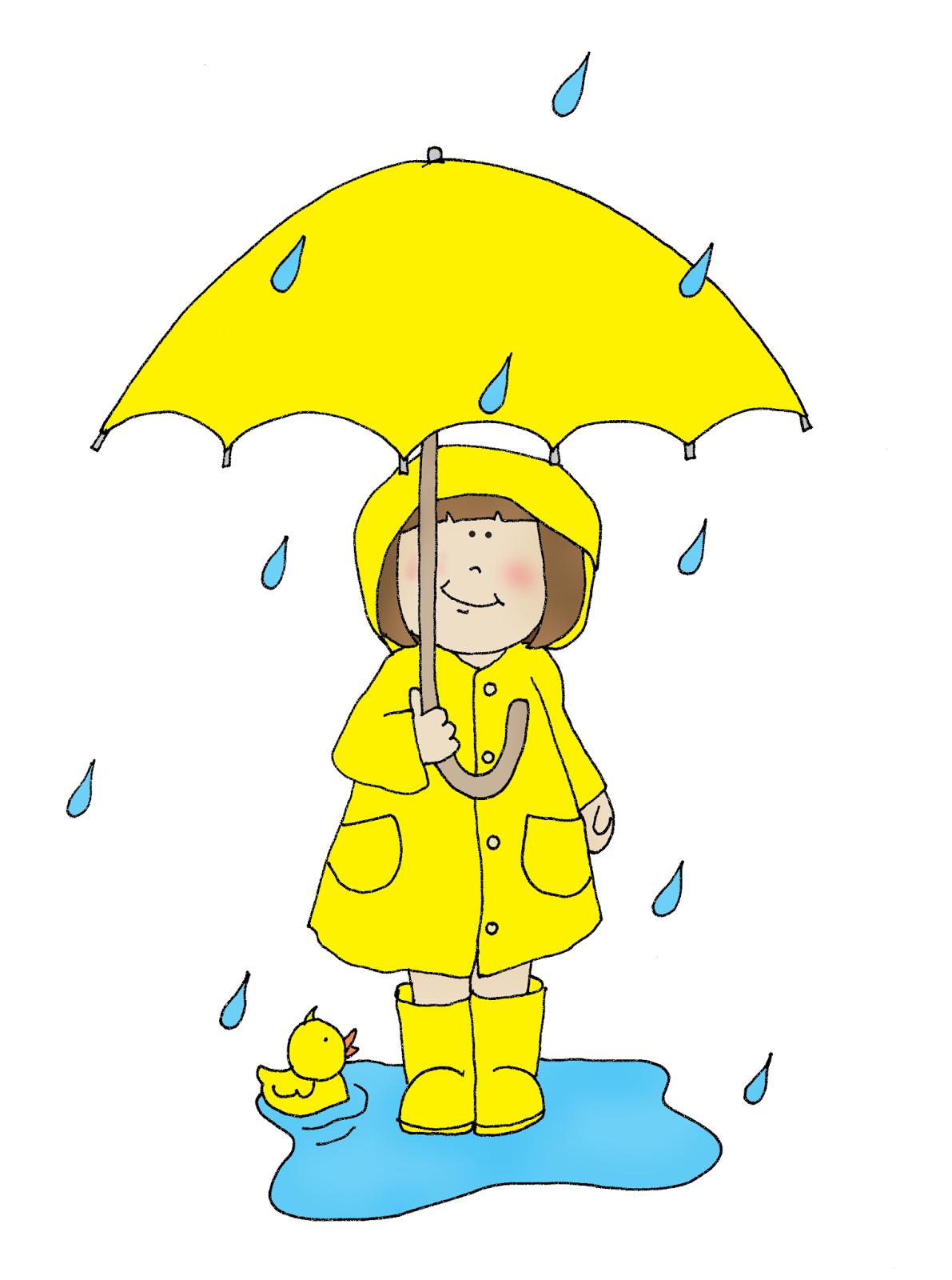 Yellow Raincoat Girl   Dearie Dolls Digi Stamps   Pinterest   Digi ...