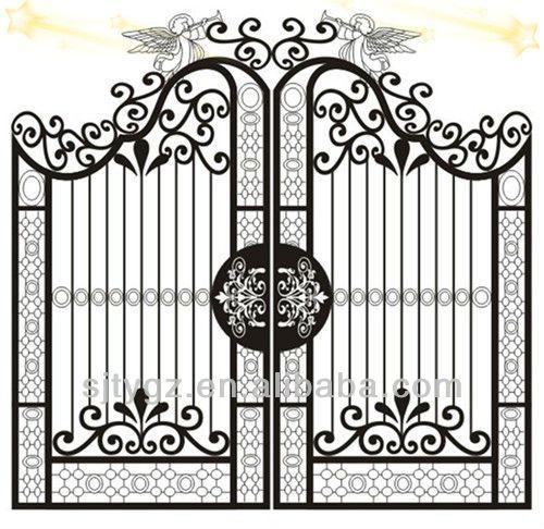 Fancy Steel Doors Google Search Wrought Iron Doors Iron Gate