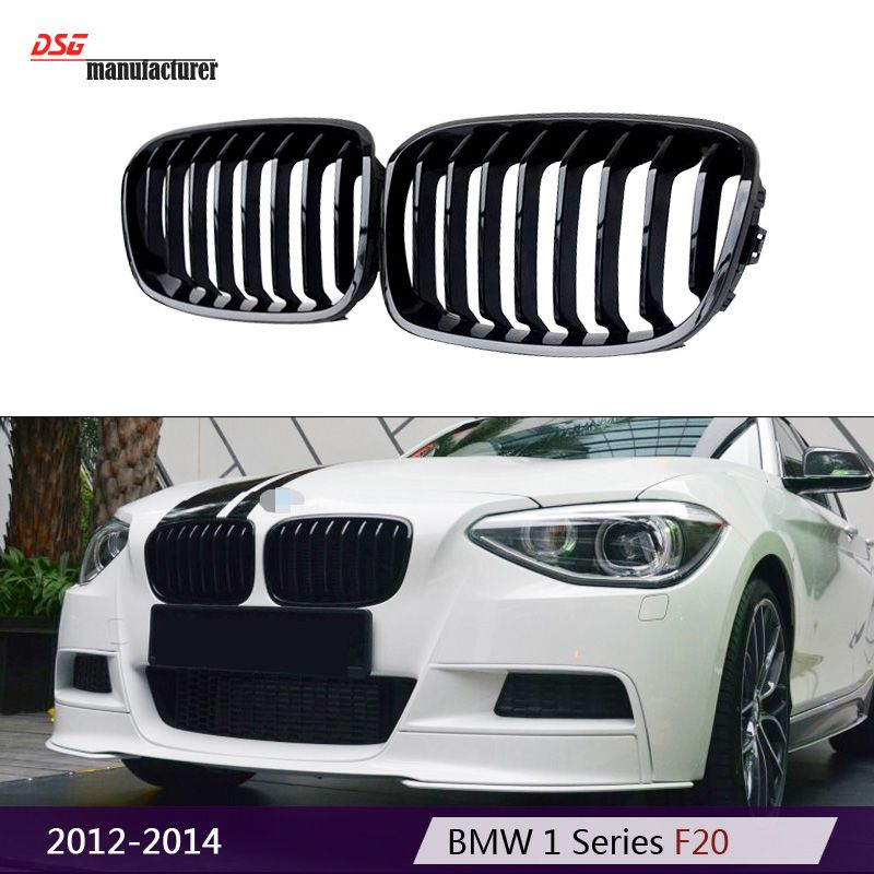 1 Series F20 1 Slat M135i Style Replacement Black Car Styling