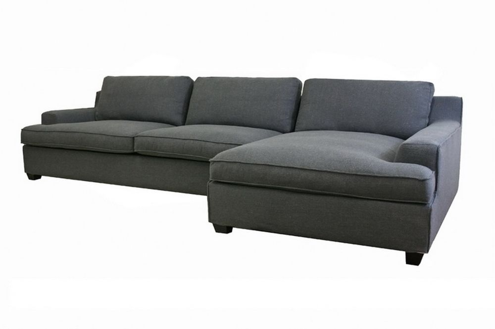 Attrayant Kaspar Slate Gray Fabric Modern Sectional Sofa | Affordable Modern  Furniture In Chicago