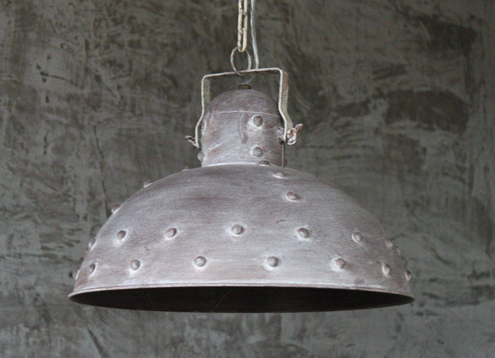 Hange Lampe O40 Cm Alte Industrielampe Kupfer Loftlampe Fabrik
