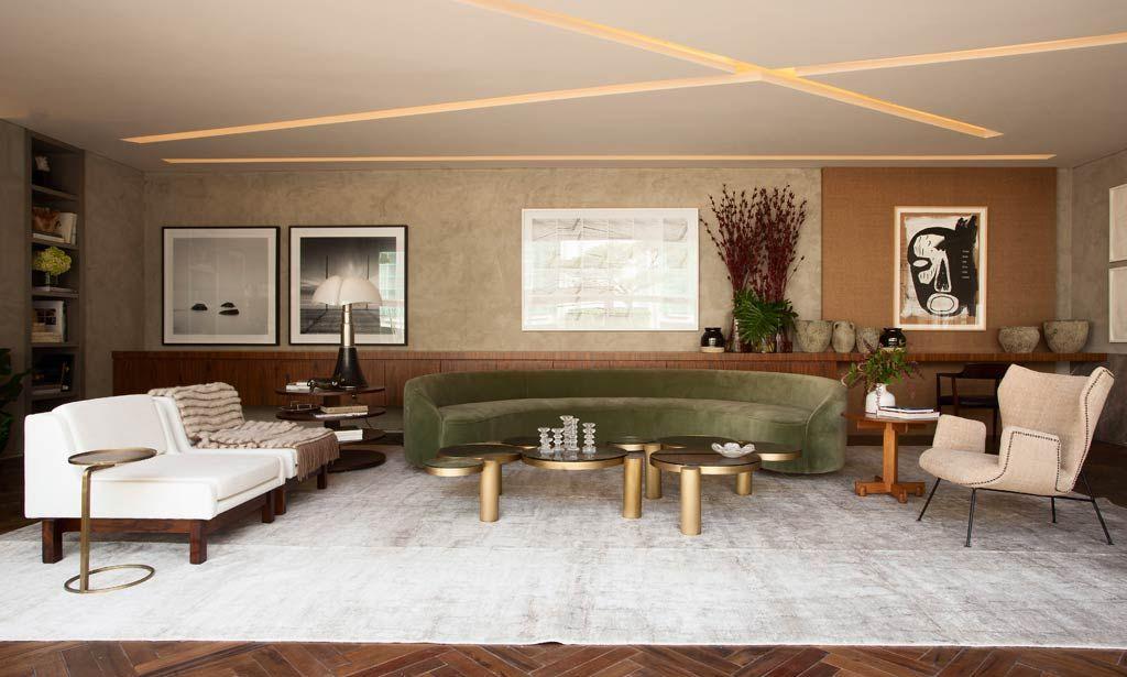 28 salas incríveis de CASA COR SÃO PAULO para você se inspirar - Casa