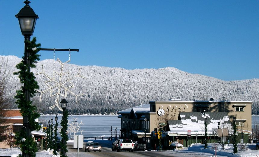 Image result for McCall idaho winter