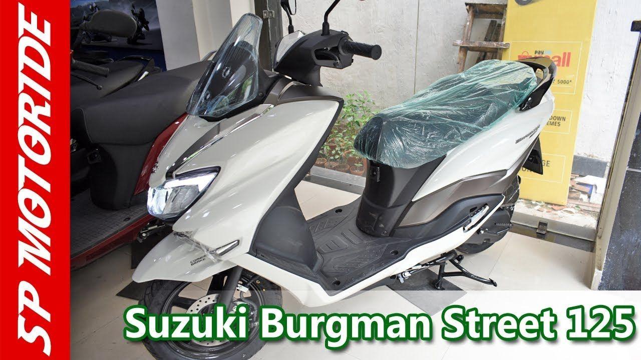 Suzuki Burgman Street 125cc   Detail review in Hindi   2018