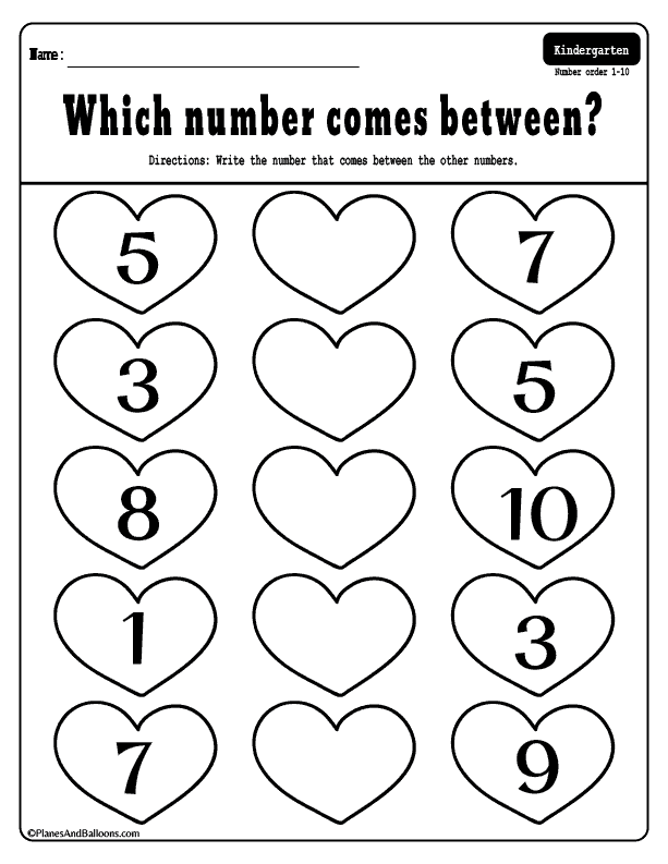 Free Printable Valentine S Day Kindergarten Math Free Printable Numbers And Kindergarten Worksheets Printable Preschool Math Worksheets Kindergarten Math Free
