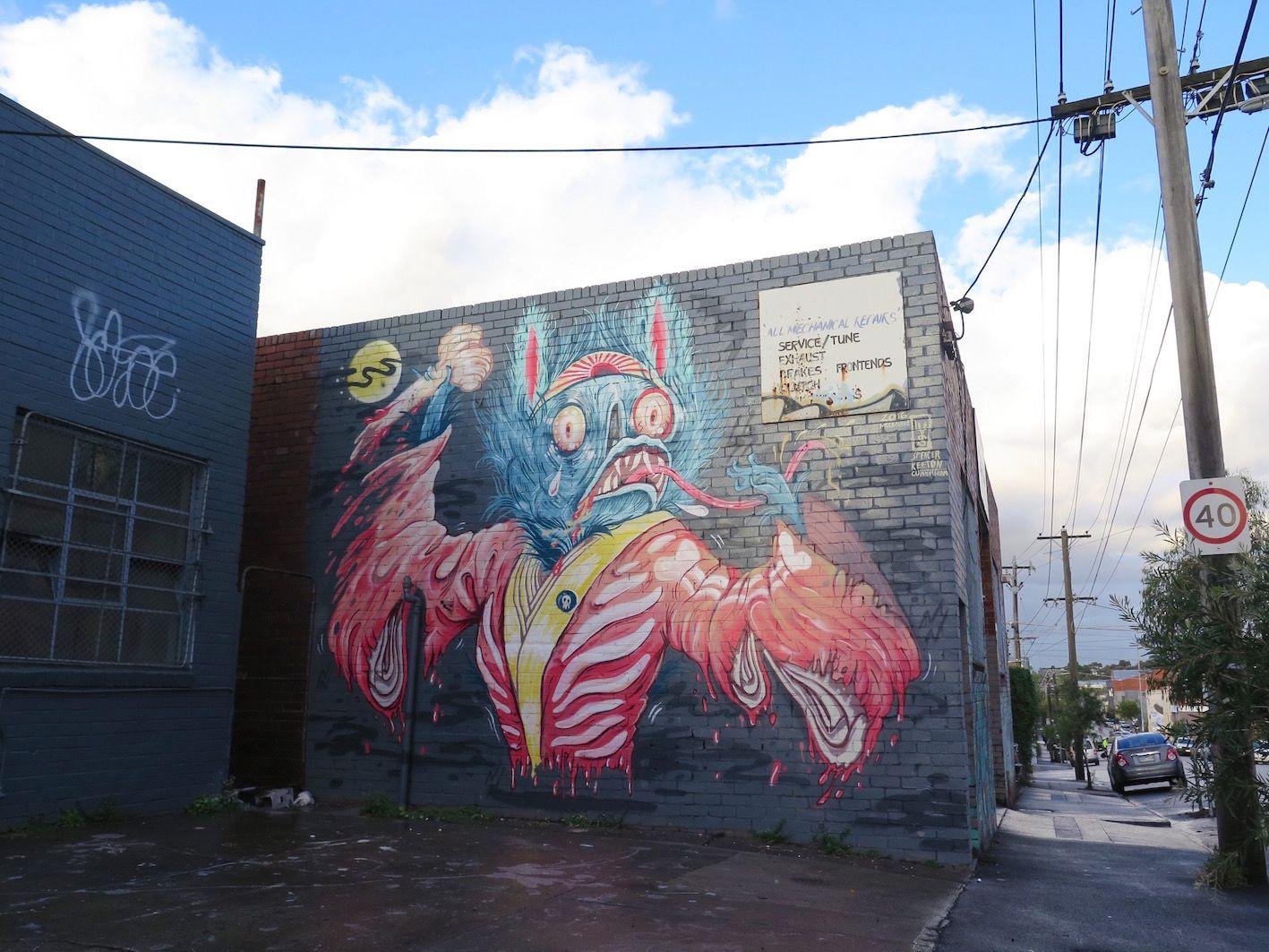 Graffiti · deansunshine landofsunshine melbourne streetart street art news laurenys 9