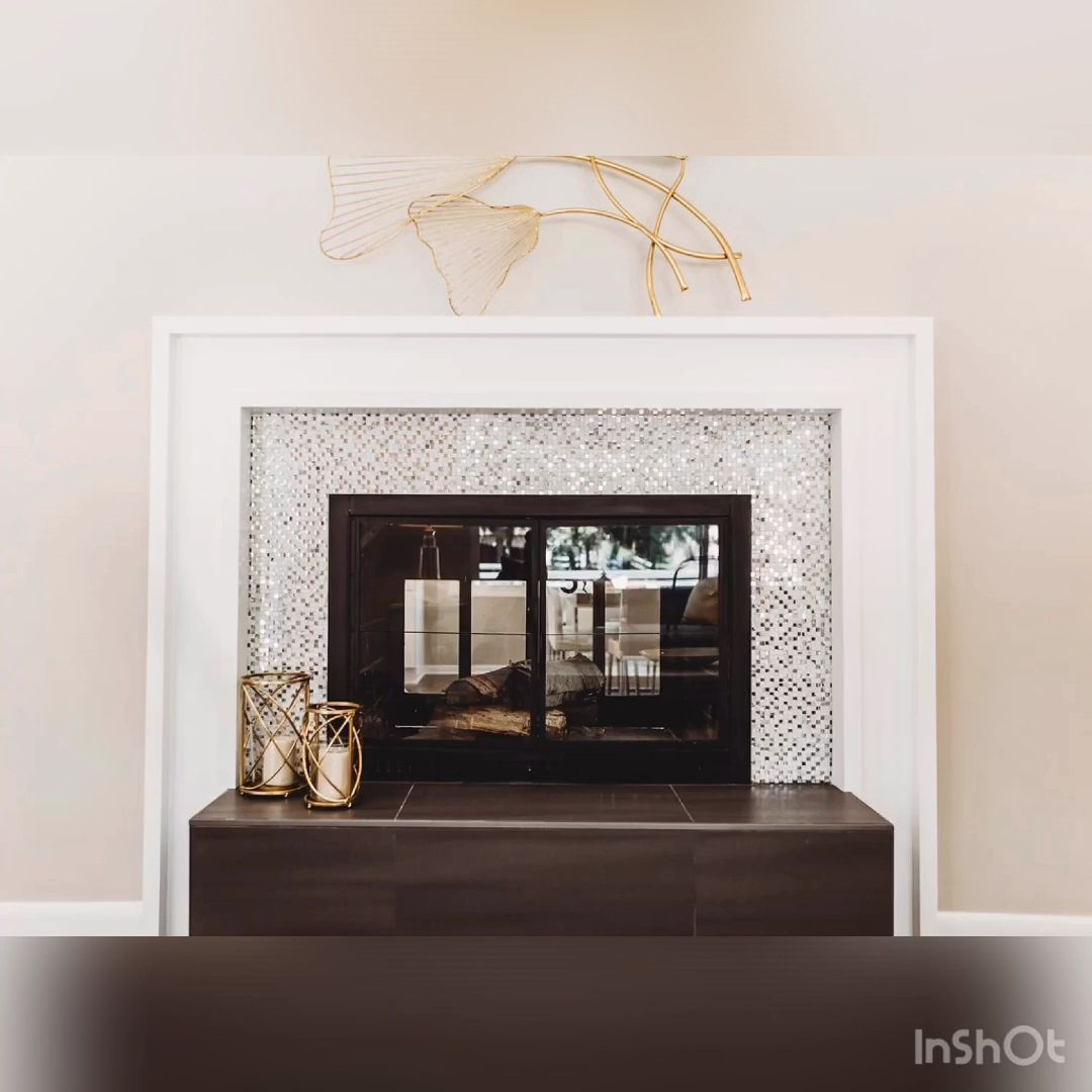 Photo of DIY Modern Fireplace Makeover
